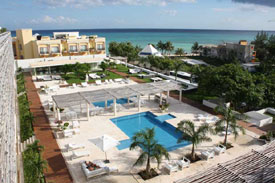 Condo Magia rental located near the beach with swiming pool and gym